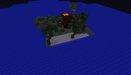 Tropical Island Suvival Minecraft Map & Project