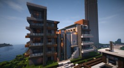 Apartments - Modern Tangerine Minecraft