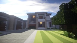 Contemporary-Modern , 3 Bedroom , 2 Story Minecraft Map & Project