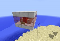 Security Blocks with One Command Block Minecraft Project