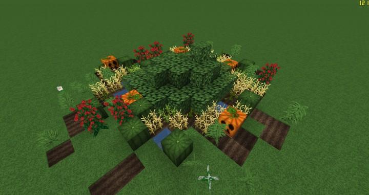 Plants Pack  Schematics  Minecraft Project