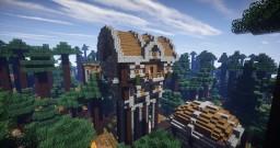 House on Stilts Minecraft Map & Project