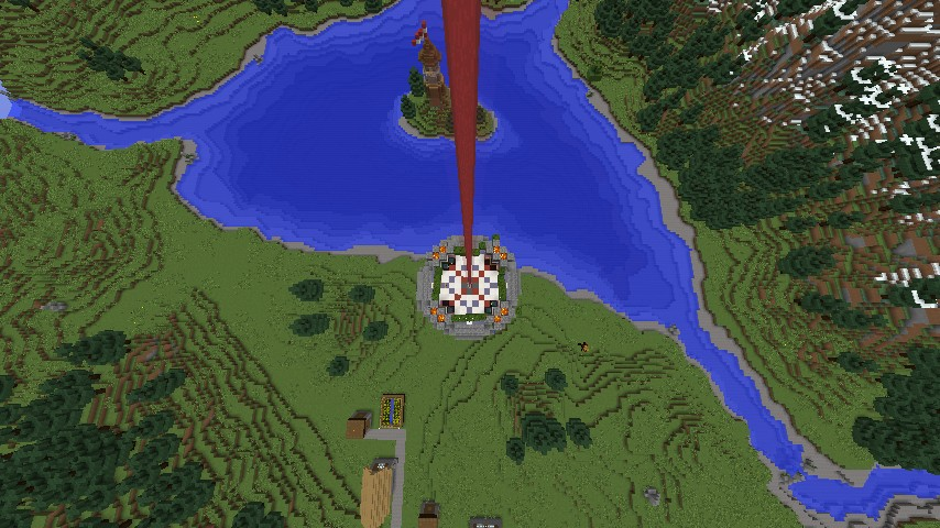 Vanilla no spawn no nothing just live Minecraft Server