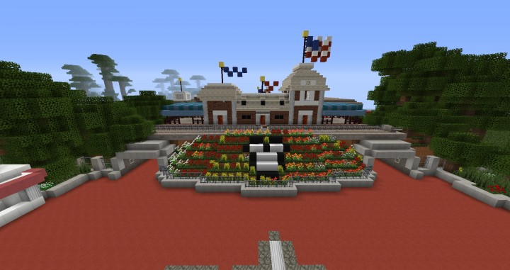 DisneyLand Map (server) Minecraft Project on