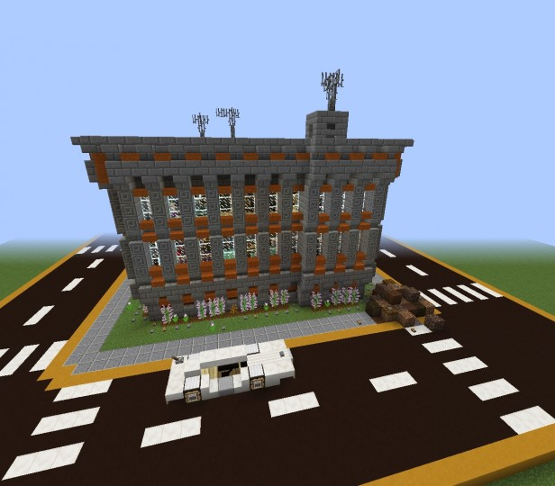 Minecraft Apartment: Three Floor London Apartment Building [EnergyCrysis