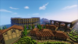 Roman inspired city Minecraft Project