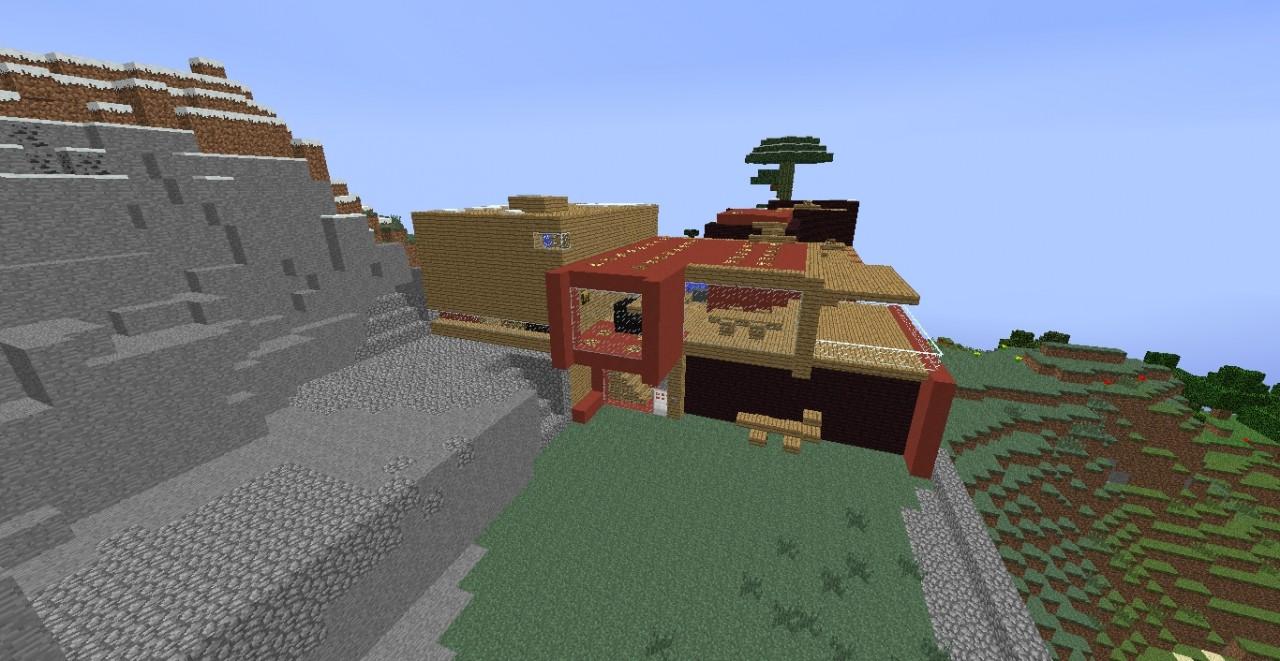minecraft lab rats house
