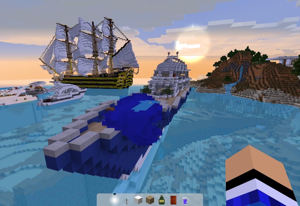 карта яхта майнкрафт #4