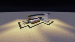 Redstone Item sorter+elevator Minecraft Map & Project