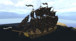 Pirate Ship: The Goliath Minecraft Map & Project