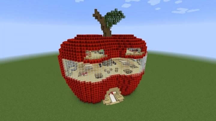 Apple Minecraft Build