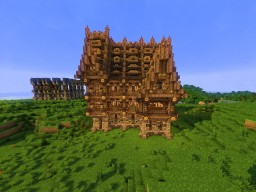 The Boar's Arse (Medieval Inn) Minecraft Map & Project