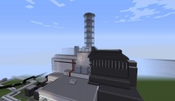 Chernobyl Nuclear power plant 1999 (August 31.) Minecraft Map & Project