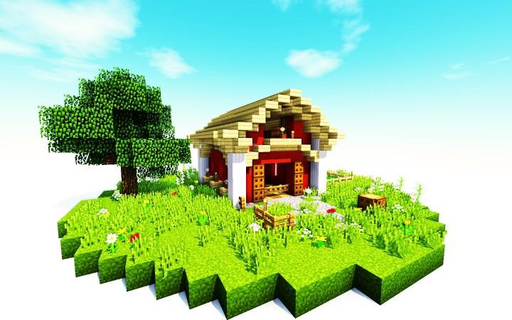 Small Barn Minecraft Project