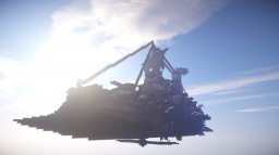 L'Aigle Vengeur // Steampunk Flying Battleship Minecraft Project
