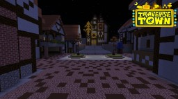 Traverse Town Kingdom Hearts Minecraft Map & Project