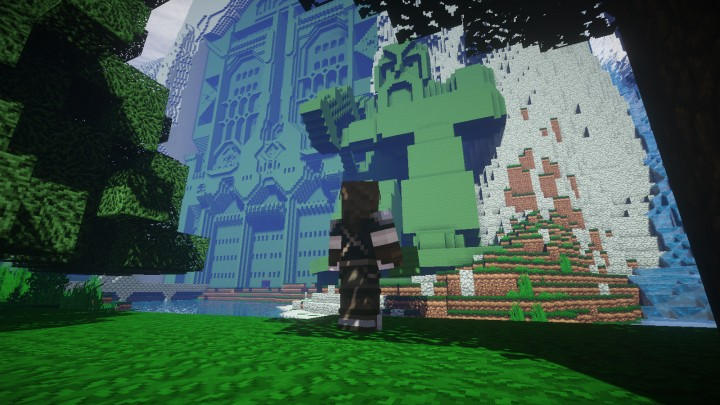 Erebor The Lonely Mountain Old Minecraft Project