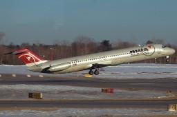 Minecraft McDonnell Douglas DC-9-50 (Northwest Airlines) Minecraft