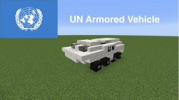 UN Armored Vehicle Minecraft Map & Project