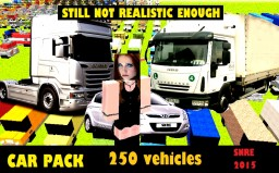 SNRE : Giant pack of vehicles Minecraft Project