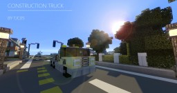 vehicle - construction Truck Minecraft Map & Project