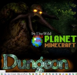 Dungeon x64 revision XV + Add-On Minecraft Texture Pack