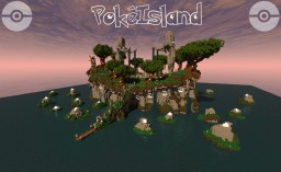 PokéIsland Minecraft Map & Project