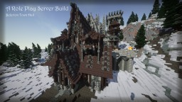 Belerion Town Hall - RolePlay Server Build Minecraft Map & Project