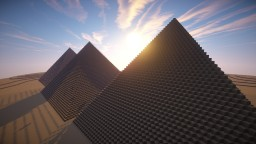 Giza Necropolis Minecraft Map & Project