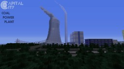Coal Power Plant | Capital City PS4 Minecraft Project