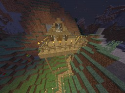 hill cabin Minecraft Map & Project