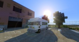 Vehicle - Removal Van Minecraft Map & Project
