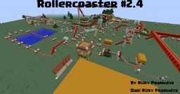 Rollercoaster #2.4 Minecraft Map & Project