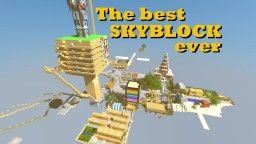 The best Skyblock ever! Minecraft Map & Project