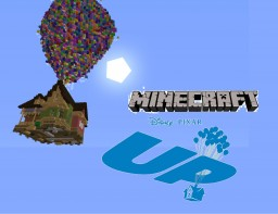 Pixar Up House Minecraft Map & Project