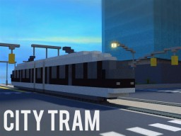 City Tram Minecraft Map & Project