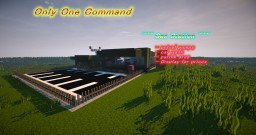 Gas Station - only one command - Minecraft vanilla mod 1.8+