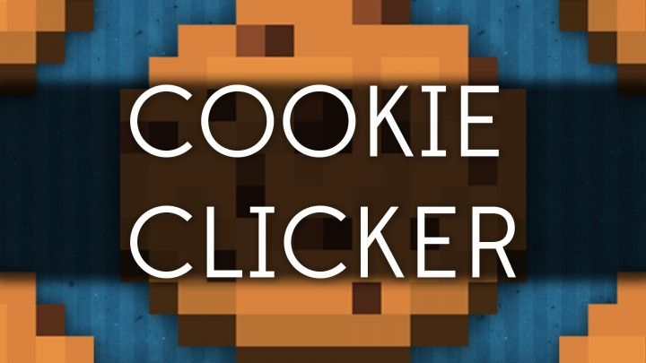 Cookie clicker with only one command block vanilla minecraft