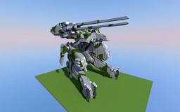 Metal Gear REX Minecraft Project