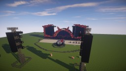AC/DC concert stage 2015 Minecraft Project