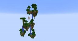 Homy's falls - Floating islands Minecraft Map & Project