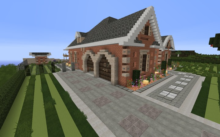 Minecraft Let S Make A Modern Brick House 5 You