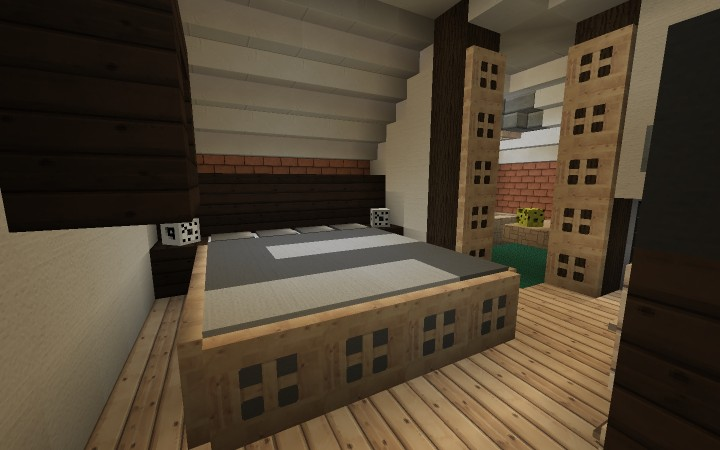 Large Suburban House Minecraft Project