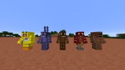 Five Nights at Freddy's CARTOON PACK Minecraft Texture Pack