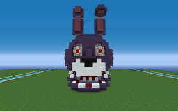 Bonnie the Bunny from Five Nights at Freddys Minecraft Map & Project