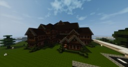 Big Medieval House Minecraft Project