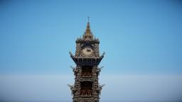 Clock tower | MasterAlexis Minecraft