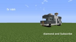Tv van Minecraft Map & Project