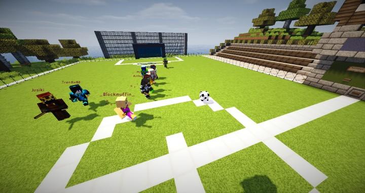 Minecraft Fußball