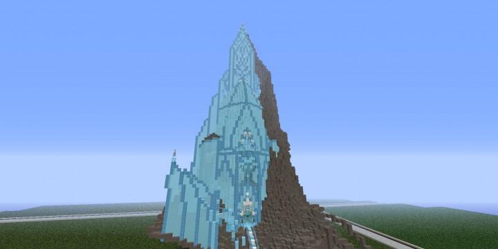 how to draw elsa ice castle